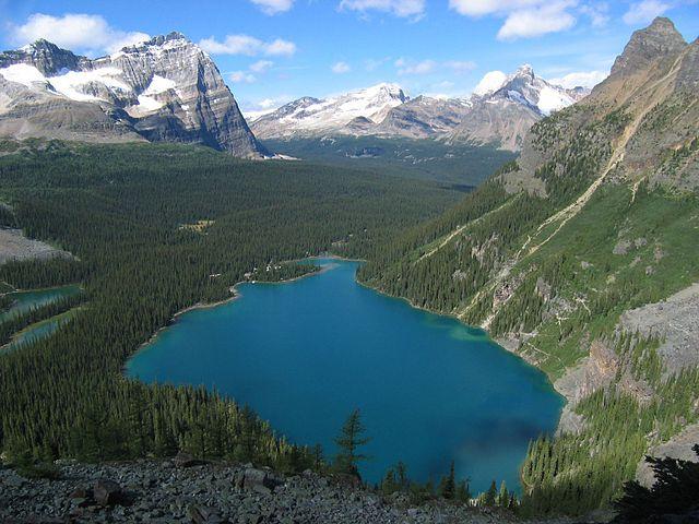 Lake O'Hara Alpine Route