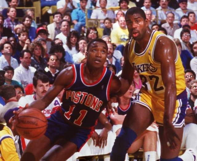Pistons Vs Lakers: DAR Sports: 10 Of The Greatest NBA Rivalries
