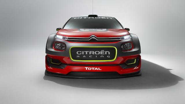 Citroen C3 WRC 2017 - Posee un cuerpo más aerodinámico