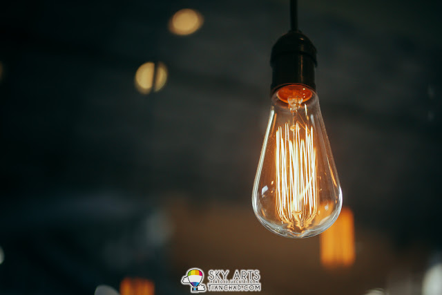 The kind of lightbulbs that you only see in hipster shop