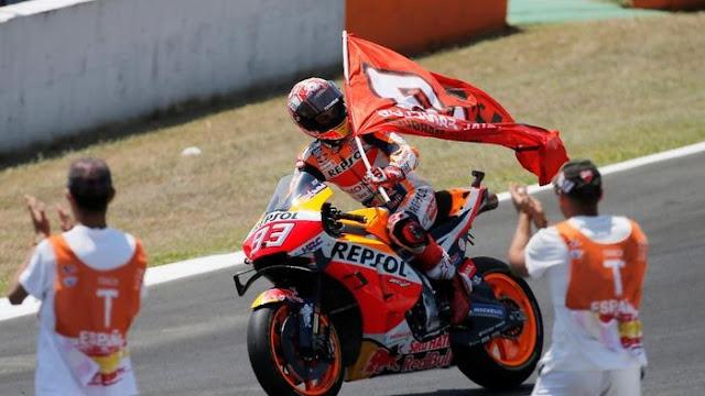Buah Kesabaran Marquez