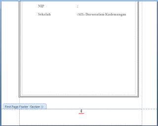 Tips Membuat Nomor Halaman Dengan Format Berbeda Di Word8