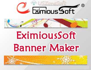 EximiousSoft Banner Maker- Website Banner Design, web ads, web graphic, web button and web header image maker. online ad creator software download
