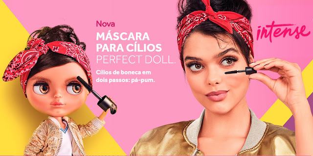 Perfect Doll - A nova máscara para cílios da Intense