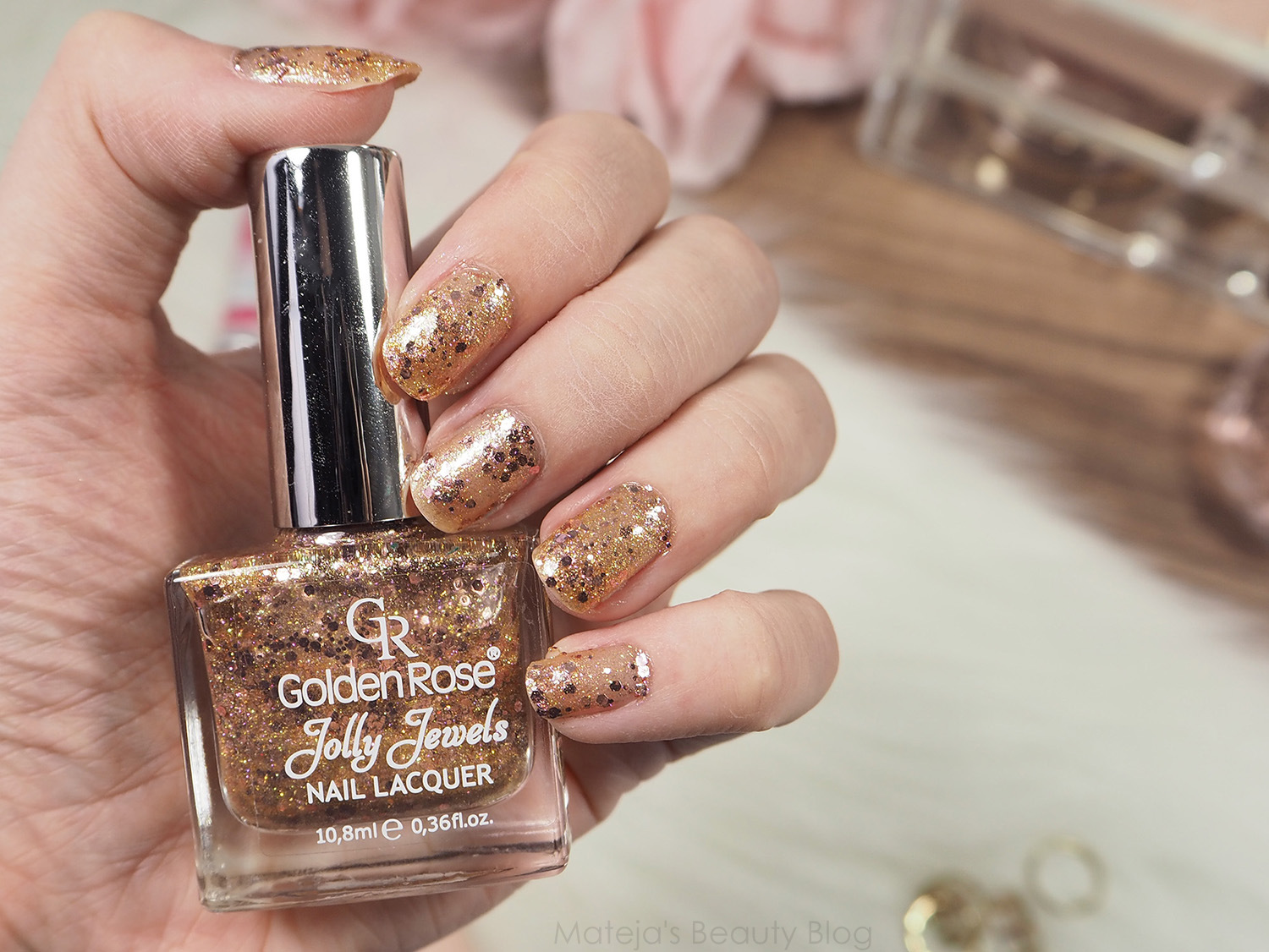 Golden Rose Jolly Jewels Nail Lacquer 103 - Mateja\'s Beauty Blog