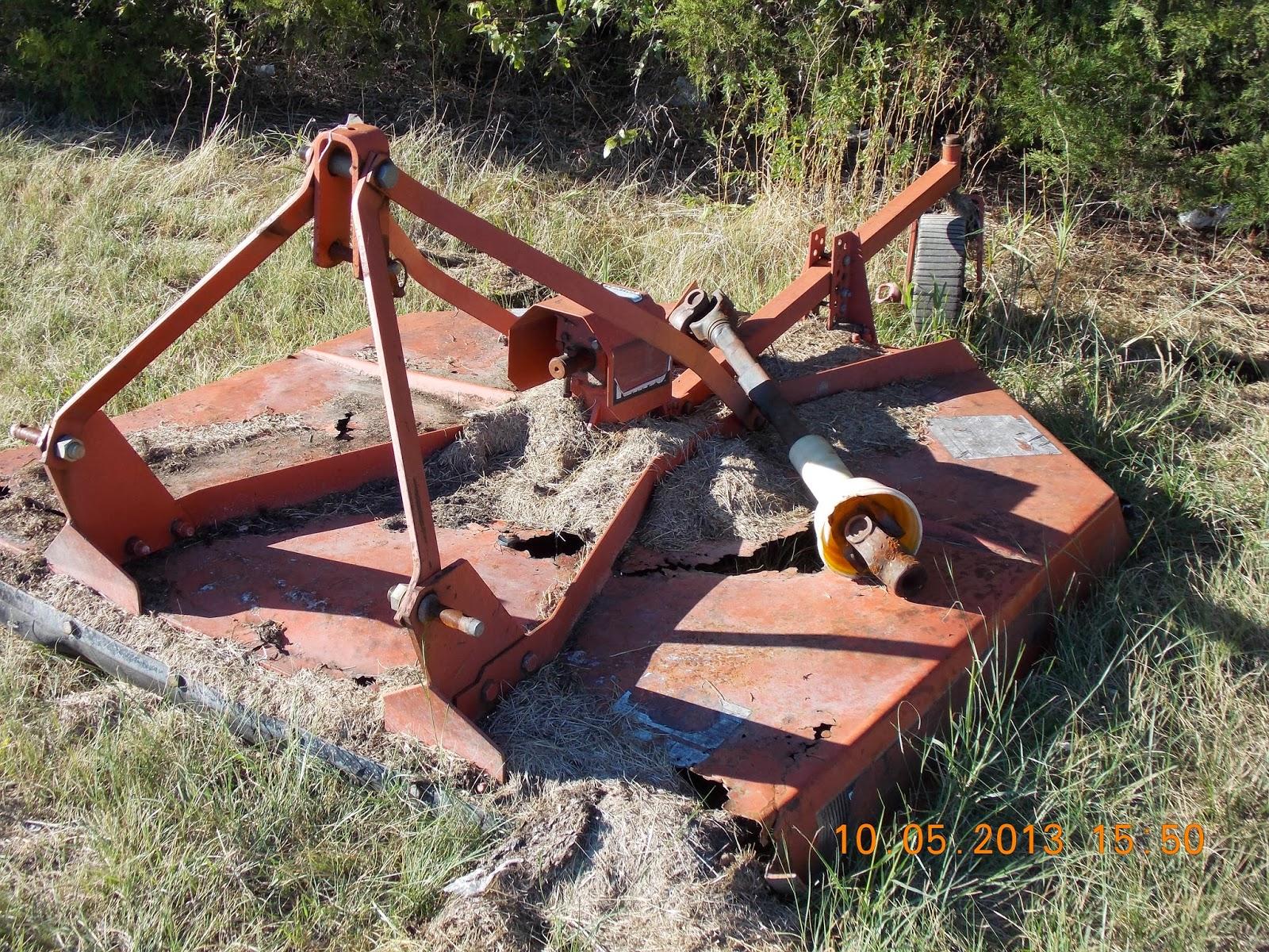 Rhino Finish Mower Parts