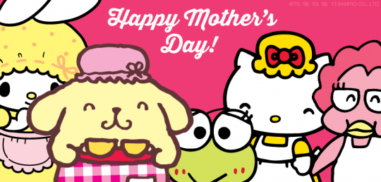 Happy mother's day2017 hello kitty images for whatsapp facebook