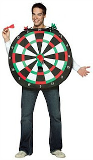 dartboard fancy dress outfit