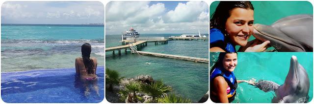 México / Isla das Mujeres / Garrafon Natural Reef Park / Dolphins Discovery / Nadar com Golfinhos