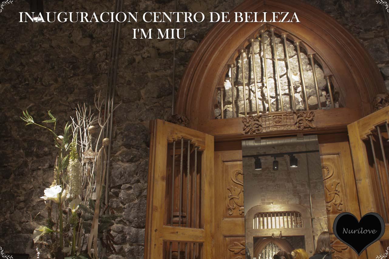 Inauguración del centro de Belleza Miu Miu en el centro de Bilbao