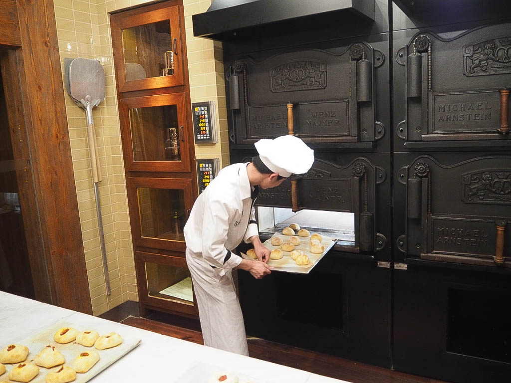 Bakery in The 1515 West Chophouse and Bar in the Shangri-La hotel, Shanghai