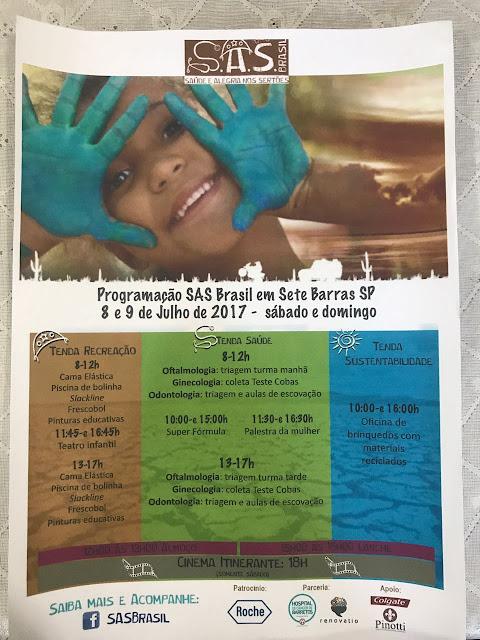 Parceria garante saúde por meio de mutirão em Sete Barras