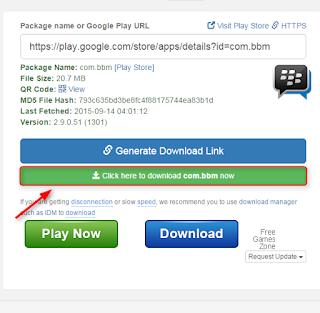 Cara download file APK android di playstore dengan PC