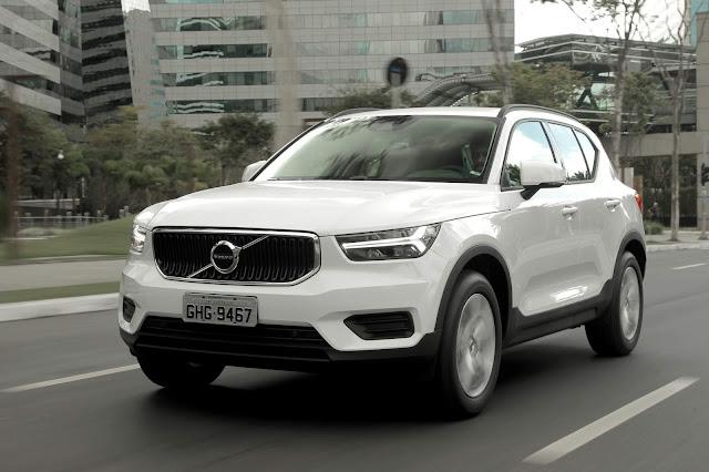 Volvo Cars registra vendas recorde no Brasil em 2018