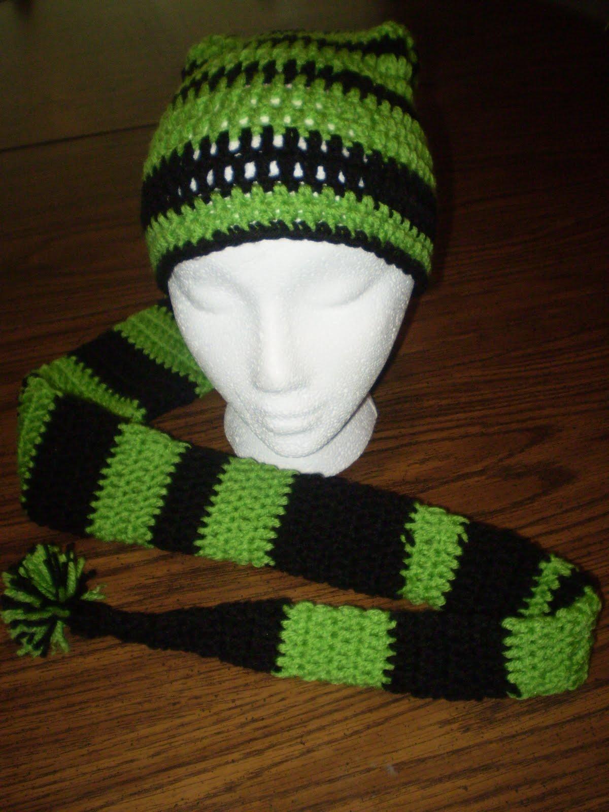 MaeBelleCreations and Musings  Super Long Stocking Hats (crochet) a0543925df4