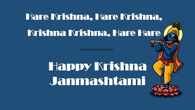 Simple and Beautiful Krishna Janmashtami Images HD