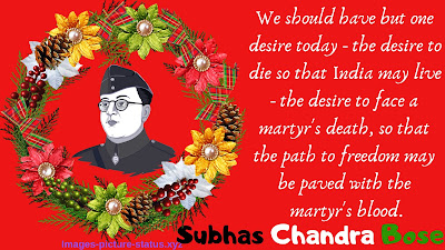 Netaji Subhash Chandra Bose Jayanti Photos Images of Pic