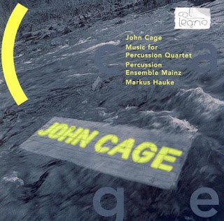 John Cage, Music for Percussion Quartet, Wergo, Percussion Ensemble Mainz