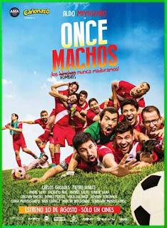 Once machos (2017)   DVDRip Latino HD GDrive 1 Link