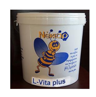Σιρόπι διέγερσης L-Vita Plus 18,5 kg της Beenectar για μεγάλα μελίσσια