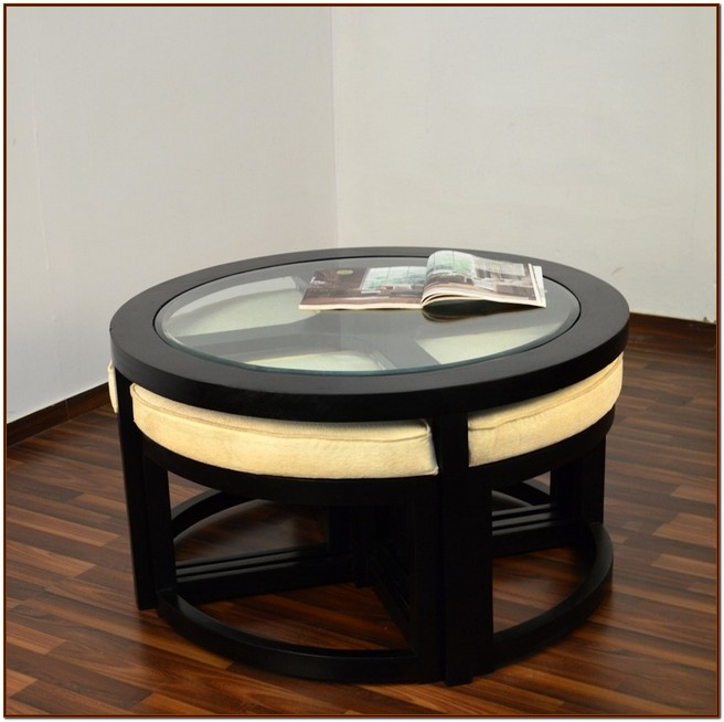 Coffee Table With Stools Ikea