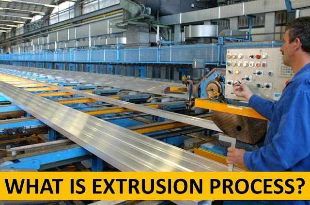 Extrusion Process : Working, Types, Application, Advantages and Disadvantages