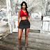 @VOGUE FAIR-Star Girl Skirt & Top