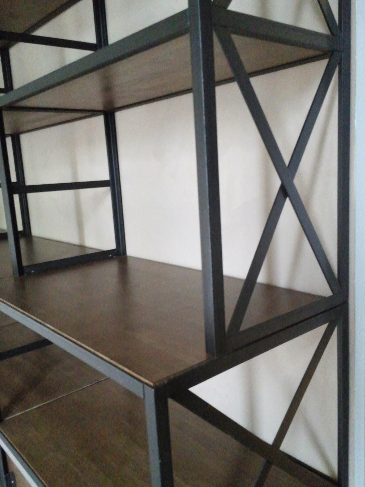 blog de la maison de l 39 imaginarium l 39 ambiance factory 100 sur mesure biblioth que m tal. Black Bedroom Furniture Sets. Home Design Ideas