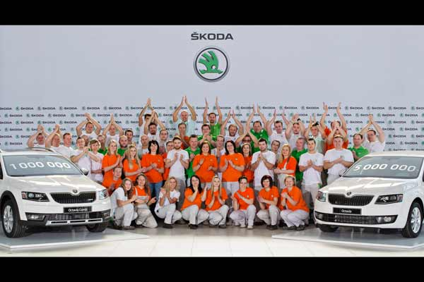 Skoda Produces One Million 3rd Gen Octavias