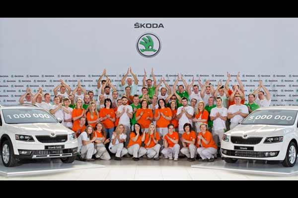 Skoda Produces One Million 3rd Gen Octavias