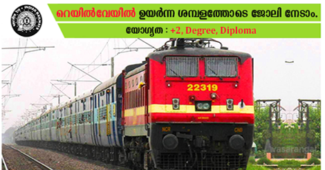 SOUTHERN RAILWAY RECRUITMENT 2018-