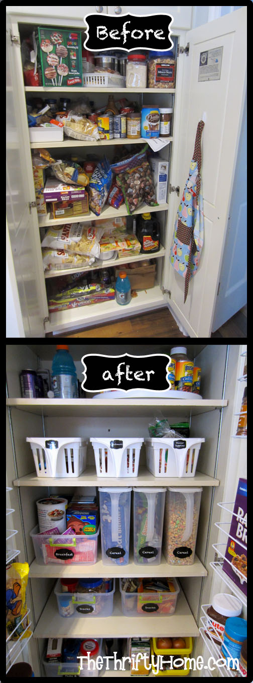 My Pantry Is Very Deep And Things Tend To Get Lost In It S Depths I Spent 1 Day Ping Organizing Came Up With Some Solutions
