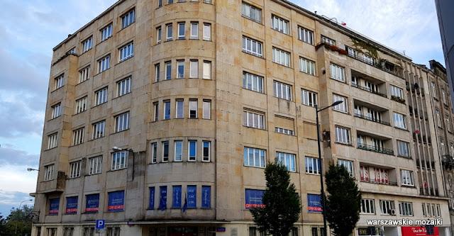 Warszawa Warsaw kamienica Bagińskich architektura funkcjonalizm
