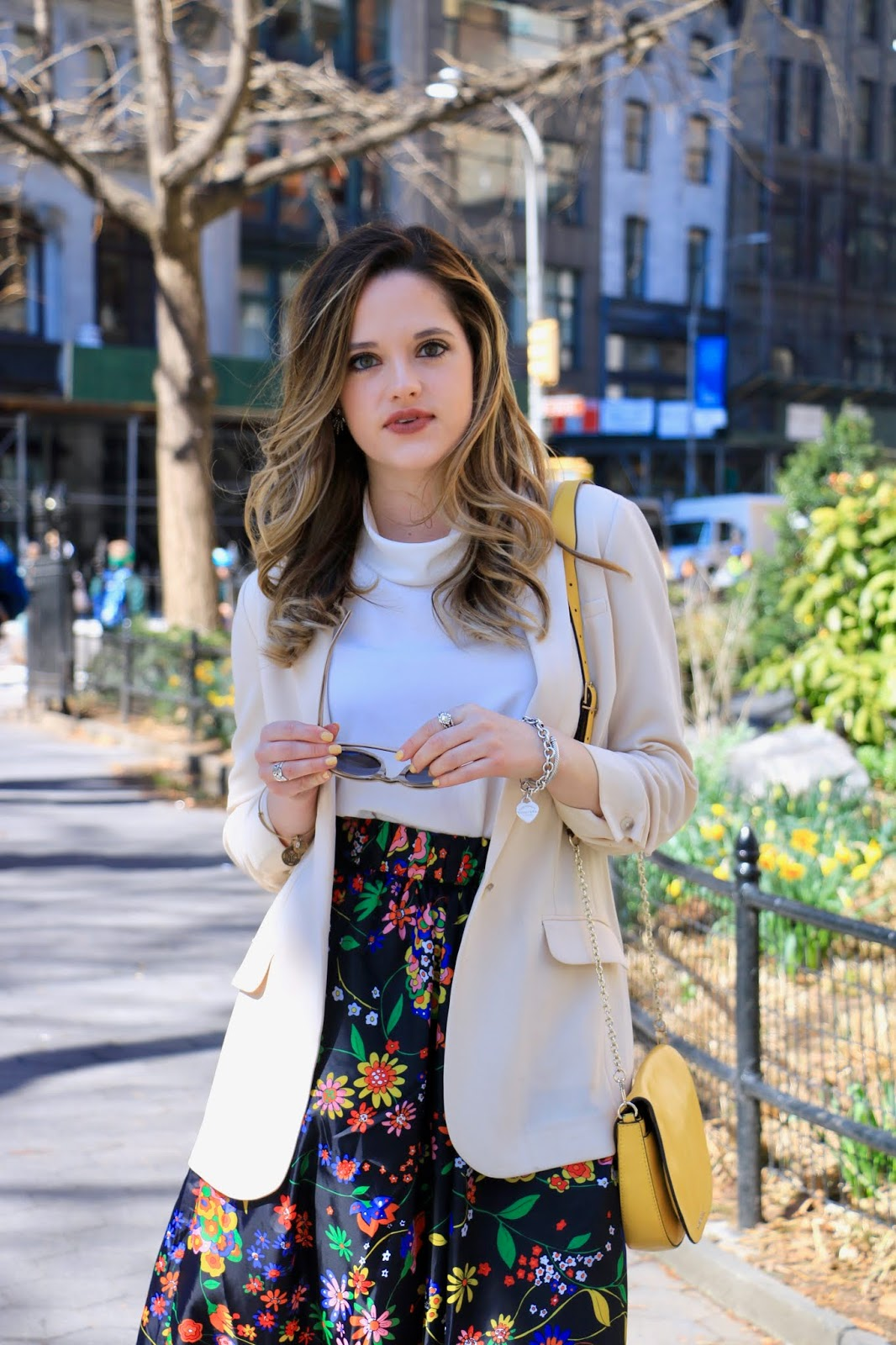 Nyc fashion blogger Kathleen Harper's oversized blazer outfit idea