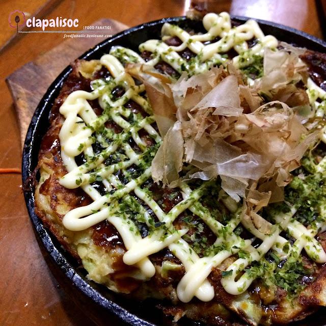 Okonomiyaki from Sigekiya Ramen
