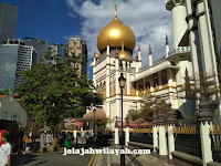 Mengenal Lebih Dekat Masjid Sultan, Masjid Tertua di Singapura