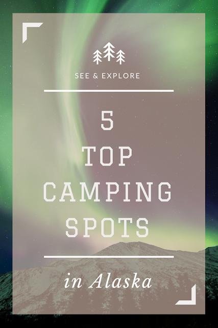 camping destinations in Alaska