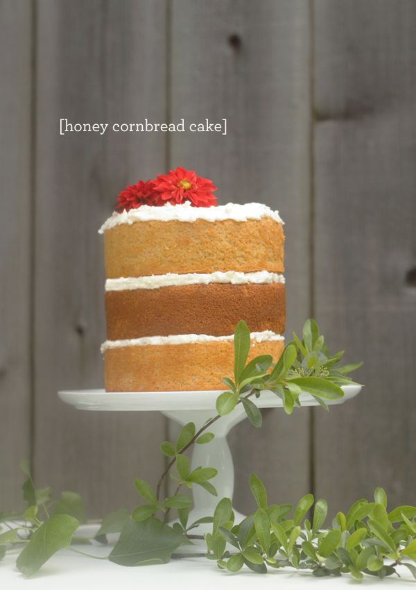 e0d429d7b CAKE Creative Co.: Cornbread Cake with Honey Butter Frosting