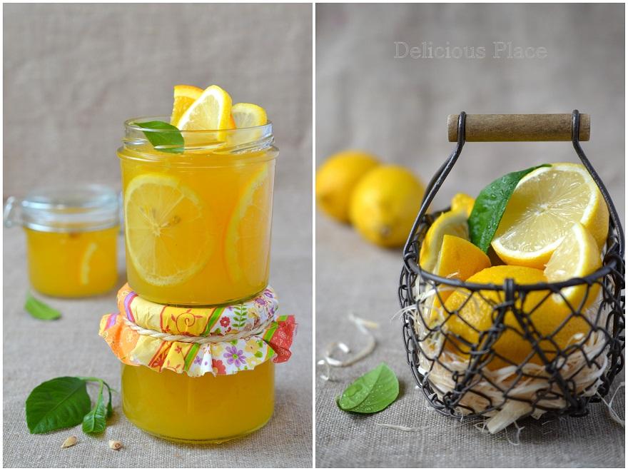 Galaretka cytrynowo-pomarańczowa