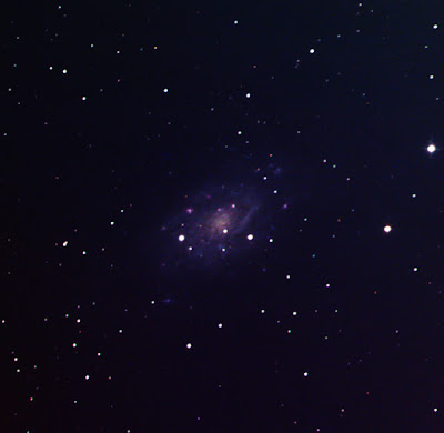 galaxy NGC 2403 in colour