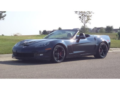 2013 Corvette Convertible in Night Race Blue Metallic