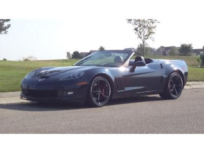 2013 Corvette Convertible in Night Race Blue Metallic
