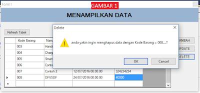 Cover1 - Tutorial Vb.Net - Cara Menciptakan Tombol Delete Database Mysql Memakai Connector Odbc
