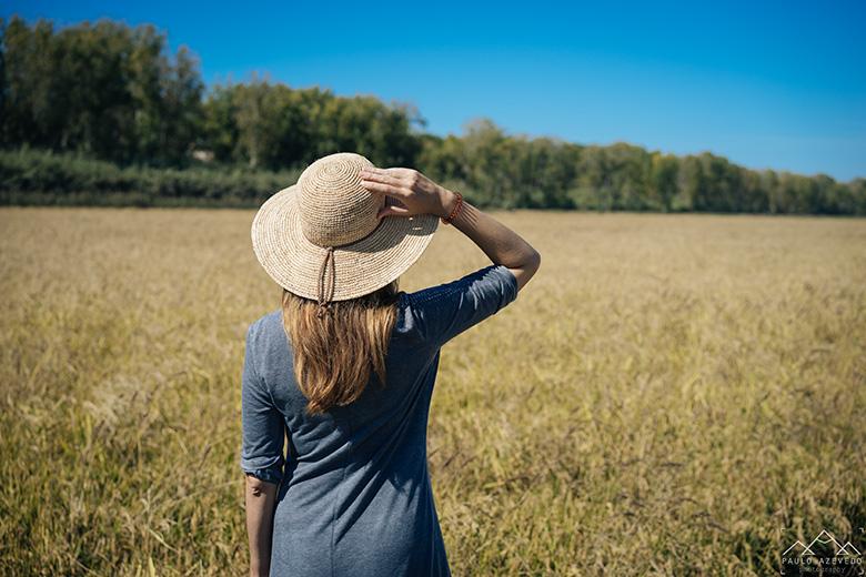 Contemplando a paisagem