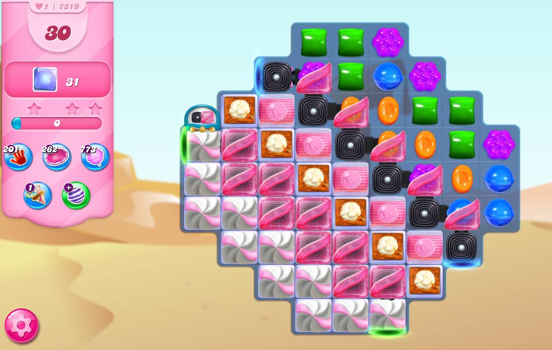 Candy Crush Saga level 7319