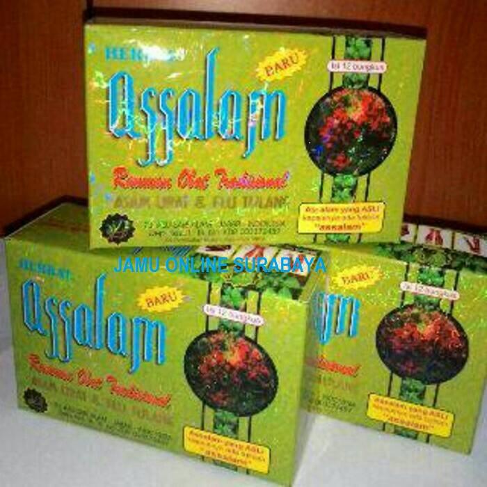 Jual jamu assalam herbal di Surabaya