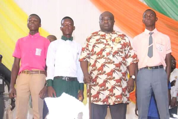 @GovernorIkpeazu honors three best students in WASCE