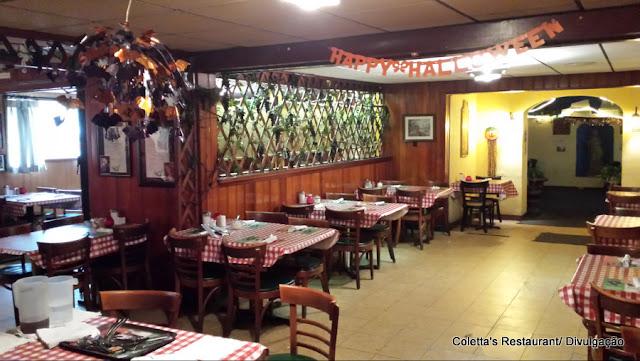 Restaurante Coletta's, em Memphis, a pizza favorita de Elvis