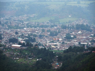 View of Patzcuaro from the Estribo Grande