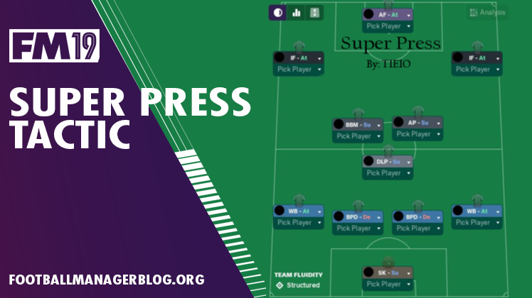 FM19 Super Press Tactic by tieio